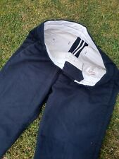 """Toast Men's Black Thick Twill Cotton Trousers 32""""x31"""" Fantastic Condition"""