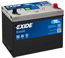 EXIDE Autobatterie Batterie 70Ah - EXCELL EB704 zzgl. 7,50€ Batteriepfand