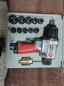"""Clarke CAT131 X-Pro ½"""" Twin Hammer Air Impact Wrench Torque 500 ft/lbs 7000 rpm"""