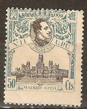 1920 CONGRESO UPU EDIFIL 306** NUMERACION A.000.000 MUESTRA