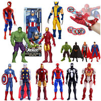 Spiderman Ironman Batman Carcajou The Avengers Thor Figurines D'Action Jouet