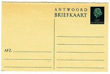 CARTE ENTIER POSTALE PAYS BAS NEUF