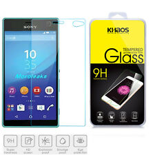 KHAOS 9H Premium Tempered Glass Screen Protector Film For Sony Xperia C4