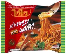 Wai Wai Instant Noodles Clams Hoi Lai Pad Cha Thai Flavor Spicy Sweet 60g