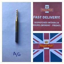Carbide Milling Cutter CNC  1.5mmDia  10mmFlute 3.2mm shank  Free Post UK  Stock