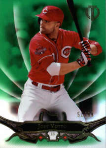 2016 Topps Tribute Green #13 Joey Votto SER #/99  BX T2H