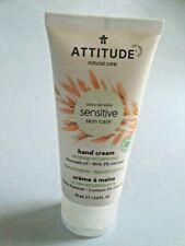 Attitude Sensitive Skin Hand Cream -Avocado Oil  2.5 fl oz 75ml