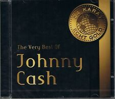 Cash, Johnny The very Best 24 Carat Gold CD New Sealed