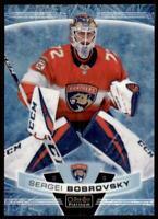 2019-20 OPC Platinum Arctic Freeze #108 Sergei Bobrovsky /99 - Florida Panthers