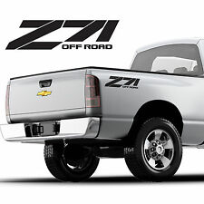 z71 offroad vinyl decal sticker chevy, chevrolet, silverado, custom design