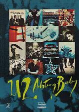 "1992 U2 ""Achtung Baby"" Record Album Trade Print Advertisement"
