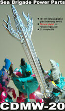 【FREE SHIP】transformers crazydevy custom CDMW-20 G1 sword mp seacon piranacon