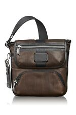 TUMI 0932306DBL Barton Crossbody Men's Leather Dark Brown NWT