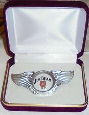 Jim Beam Whiskey Bar Concert Brewery Biker Wing Vest Hat Jacket Pin Badge Pub KY