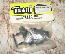 VINTAGE TEAM LOSI XX FRONT KIT SPINDLES AND CARRIERS RC 1120