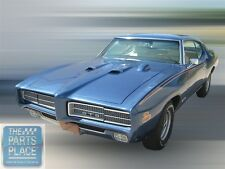 1969 Pontiac GTO / LeMans Judge Appearance Kit Coupe - Yellow - Red - Blue