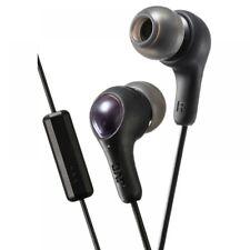 JVC Hafx7mb Gumy Plus in Ear Headphones With Mic & Remote Black