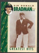 WEETBIX DON BRADMAN GREATEST HITS CRICKET CARD # 5 of 16