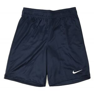 New Nike DRI-FIT Soccer Futbol Park II Short Youth Medium 898025 Navy Blue