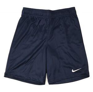 New Nike DRI-FIT Soccer Futbol Park II Short Youth Medium 898025 Navy Blue