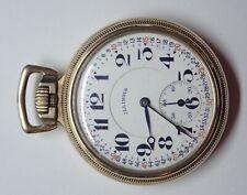 Illinois Burlington Watch Co 1917 Grade 107 16s 21j Gold Filled Pocket Watch