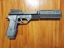3D printed Robo Cop Auto 9 Pistol Replica Prop Gun Model 3D printed Kit Robocop