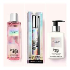Victoria's Secret DREAM ANGEL Eau de Parfum Rollerball+Body Mist+Body Lotion Set