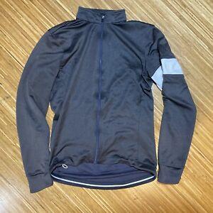 Rapha Men's M Long Sleeve Full Zip Merino Jersey Grey