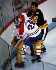 Ken Dryden Montreal Canadiens Game Auction 8x10 Photo