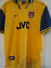 Arsenal 1996-1997 Away Football Shirt Size XL /40113 UNWORN