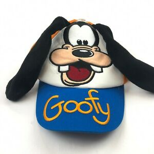 Goofy Disney Parks Youth Goofy Ear Flaps Adjustable Hat NEW