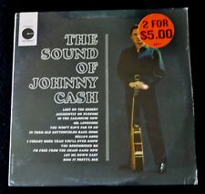 JOHNNY CASH-THE SOUND OF JOHNNY CASH-LE 10146-COUNTRY-SEALED LP