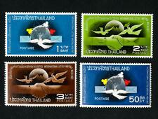 Thailand Stamps # 490-3 VF OG LH Catalog Value $25.50