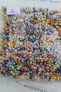 50g glass seed beeds, Rocaille,Preciosa,each additional item is Free postage