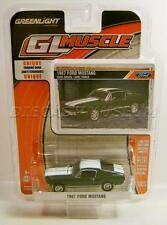 1967 '67 FORD MUSTANG DIECAST GL MUSCLE R17 GREENLIGHT 2016