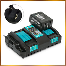 For Makita DC18RD 7.2v-18v LXT Twin Port Rapid Battery Charger