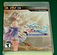 PS3 REGION FREE ATELIER TOTORI THE ADVENTURER OF ARLAND US English NEW SEALED