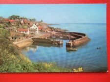 POSTCARD FIFE CRAIL HARBOUR FROM WEST CLIFFS