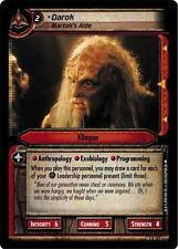 Star Trek CCG 2E Call To Arms Darok, Martok's Aide 3R185