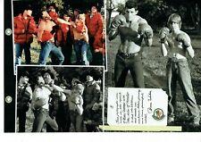 Publicité Advertising 049  2011  vetements sport Moncler (2p) Bruce Weber  boxe