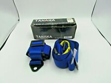 "Tanaka Universal Blue 4 Point Buckle Racing Seat Belt Harness 2"" (T1)"