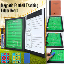 NEW Folder Football Coaching Tactical Board Magnetic Clipboard Dry Erase