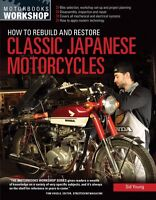 How to Rebuild and Restore Classic Japanese Motorcycles Book ~Color Photos~ NEW!