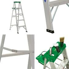 5 ft. aluminum step ladder with 225 lb. load capacity type ii duty rating | slip