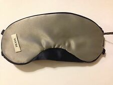 PRADA SATIN SLEEP SLEEPING EYE MASK~ADJUSTABLE & REVERSIBLE~TRAVEL IN STYLE~AUTH