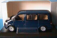 VW VOLKSWAGEN MULTIVAN T5 2003 DARK BLUE METAL MINICHAMPS 842902126 1/43 KOMBI