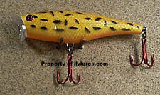 JLVLures Surface Slasher- Spotted Leopard  JSS320TR Popper Topwater Bass Lure