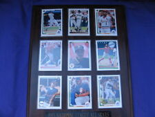 1993 Baseball National League Allstars Limited Edition Cards Plaque Mounted MLB