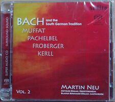 SACD Martin NUOVO Bach and the South German tradizione audite ibrida 2011 NUOVO & OVP