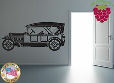 Wall Stickers Vinyl Decal Old Mobile Vintage Car ig917